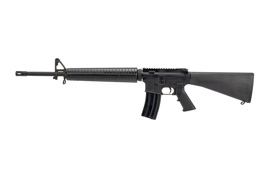 "Doublestar complete rifle is a quality clone of a 20"" M16 pattern rifle with fixed stock and flat top receiver"