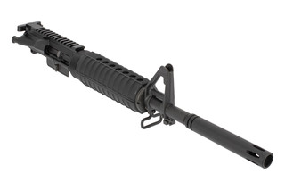 Del Ton Complete AR15 Upper Receiver features an 11.5 inch barrel with pinned barrel shroud