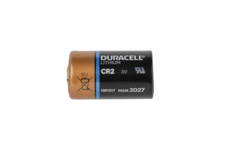 The Duracell Ultra CR2 3V Lithium Battery features a 10 year shelf life