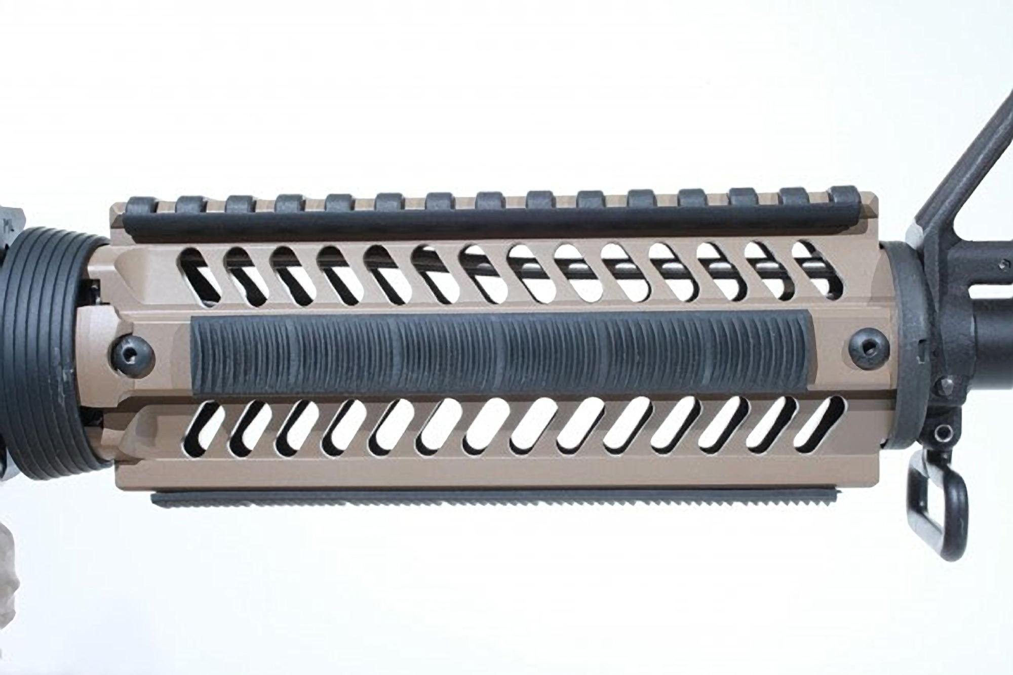 ERGO WedgeLok 7-Slot KeyMod Rail Covers 4 Pack - Black EG4330-4PK-BK