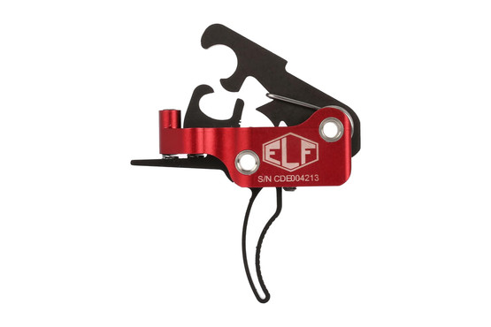 The Elftmann AR-10 Trigger Curved MIL-SPEC .154 inch was made to fit AR308 lower receivers