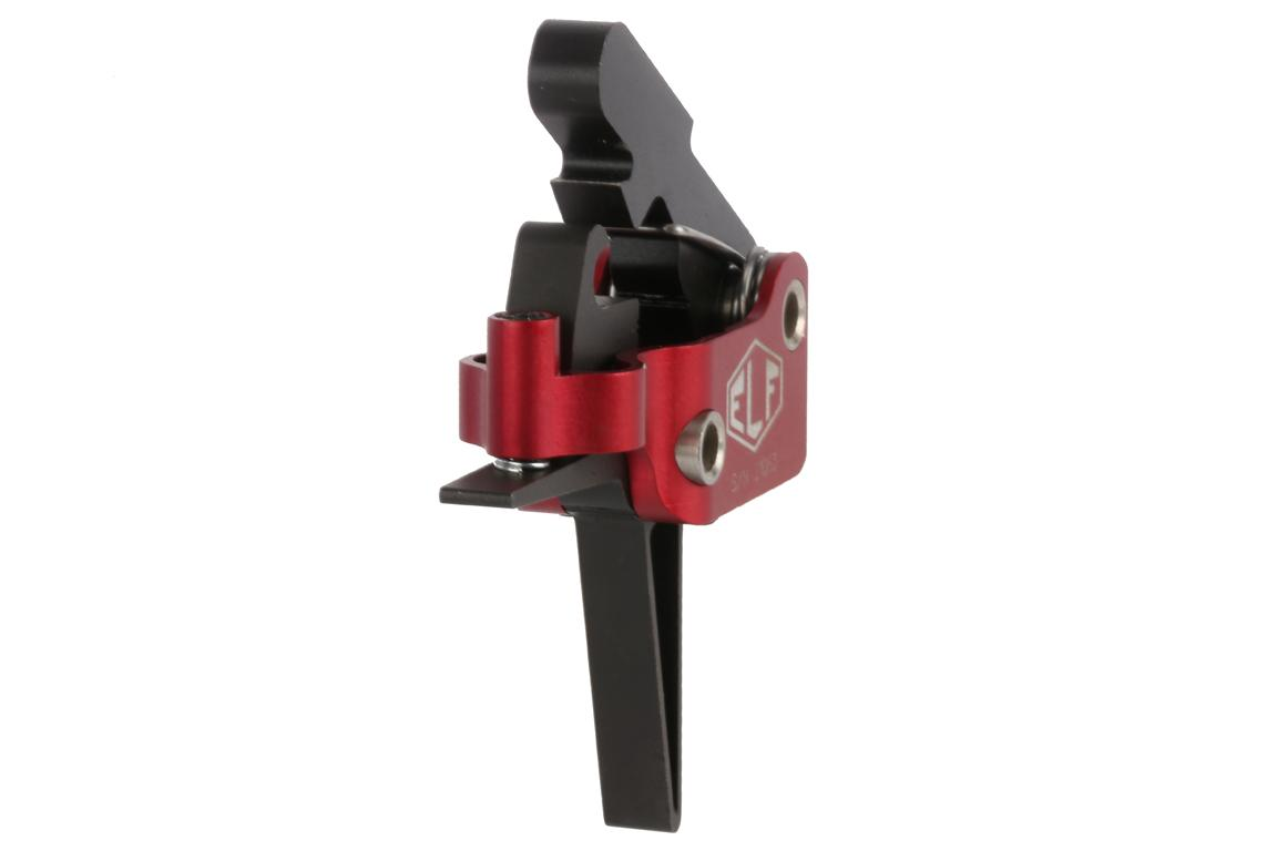 The Elftmann AR15 Match Trigger Straight Mil-Spec .154 inch is fully adjustable for short reset and trigger pull