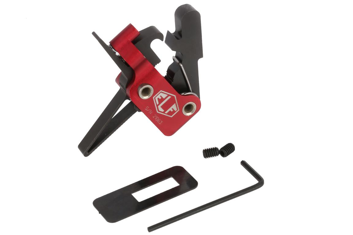 The Elftmann AR15 Match Trigger Straight Mil-Spec .154 inch comes with required installation hardware