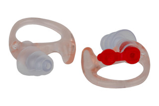 The Surefire EP4 Sonic Defenders Plus Ear plugs provide a noise reduction rating of 24