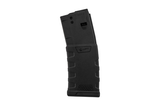 MFT black Extreme Duty 5.56 AR15 mags with 30-round standard capacity feature ergonomic design for a non-slip grip.