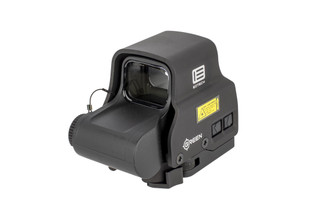 EOTech EXPS2-0 holographic weapon sight features a raised base, side mounted controls, and bright green reticle!