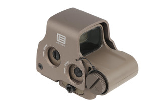 The EOTech EXPS3-0 holographic weapon sight with tan finish features a protective aluminum casing