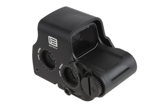 The EOTech EXPS3-0 Holographic weapon sight features a 68 MOA circle and 1 MOA red dot reticle