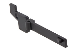 Angstadt Arms Extended Magazine Release features a black hardcoat anodized finish