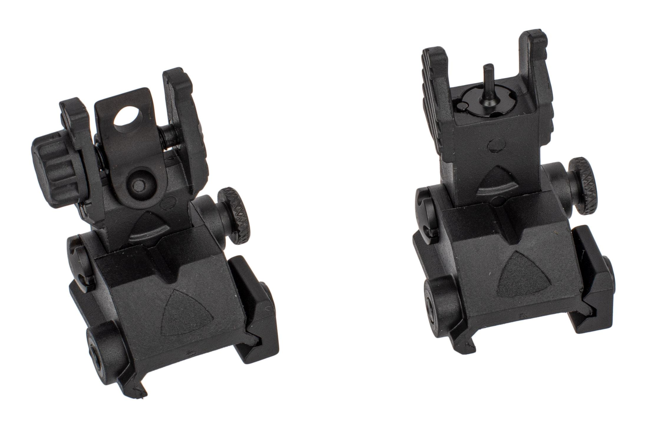 Guntec USA EZ Sights Thin Profile Folding BUIS