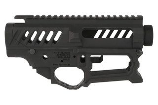 The F1 Firearms BDR-10-3G .308 receiver set is skeletonized to reduce weight for competition use