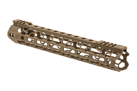 The Odin Works O2 Lite Handguard 12.5 inch features a flat dark earth cerakote finish