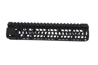 The Odin Works 9.5 inch M-LOK handguard features a free float design