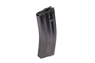 The Radical Firearms 458 SOCOM magazine is made from steel and holds 10 rounds