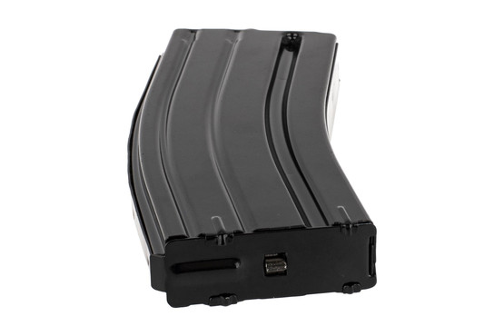 The Elander .458 SOCOM 10 round magazine has a removable floor plate