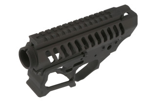 The F-1 Firearms BDR-15-3G Skeletonized AR15 receiver set is machined from billet 7075 aluminum