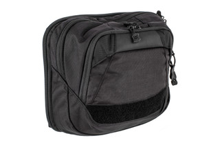 The Vertx Tourist Sling Bag comes in black and is made from Nylon