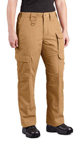 Propper Lightweight Women's Tactical Pant in coyote, front right view