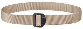 Propper Tactical Duty Belt in khaki, front view