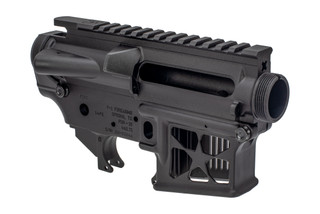 F1 Firearms FDR15 Receiver Set features a skeletonized magazine well