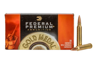 Federal gold medal match sierra matchking ammunition in 300 win mag is the de-facto cartridge for long range precision