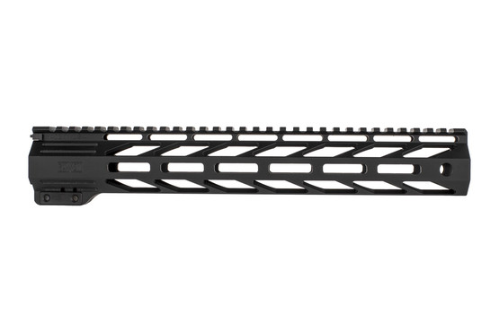 The Faxon Firearms Streamline 13 inch free float handguard is lightweight and durable