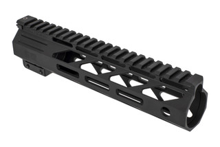 The Faxon Firearms Streamline M-LOK free float handguard 9 inch is machined from aluminum with anodized finish