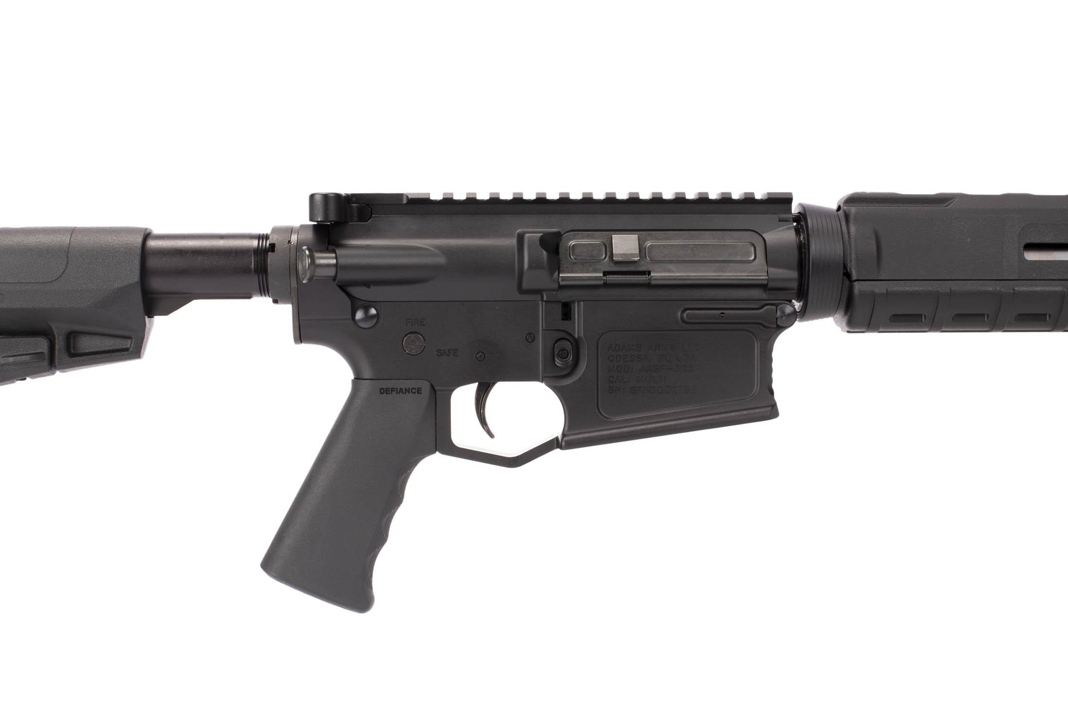 Adams Arms 16in .308 Win carbine length short stroke AR-10 rifle has ships with Defiance pistol grip