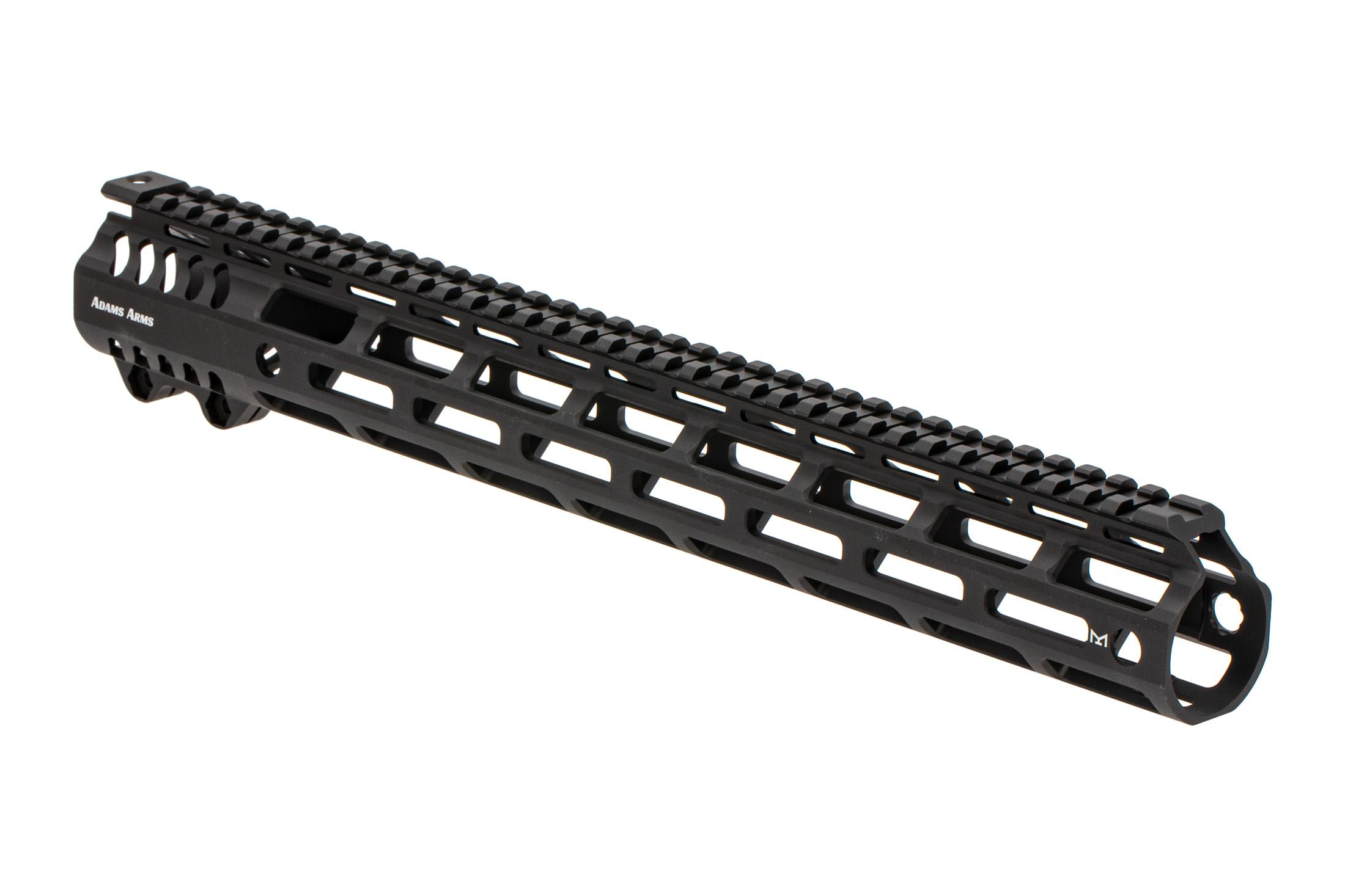 Adams Arms P Series M-LOK 308 handguard features a scalloped top rail