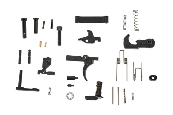 The Adams Arms VDI LifeCoat AR15 Lower Parts Kit comes with a single stage Mil-Spec trigger group