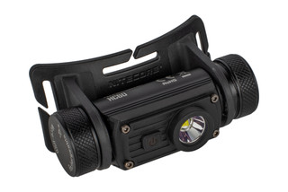 The Nitecore HC60 1000 Lumen Headlamp features an anodized aluminum casing