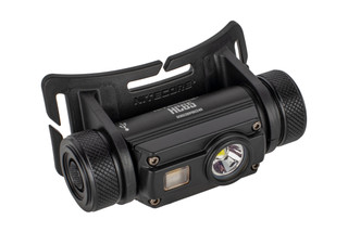 The Nitecore HC65 Headlamp features 1000 Lumens of output and uses a rechargeable battery