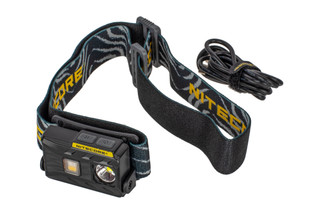 The Nitecore NU25 Headlamp features 360 Lumens of outbut and an integral rechargeable battery