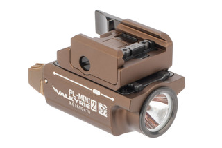 Olight PL Mini 2 Valkyrie weapon light come in Tan
