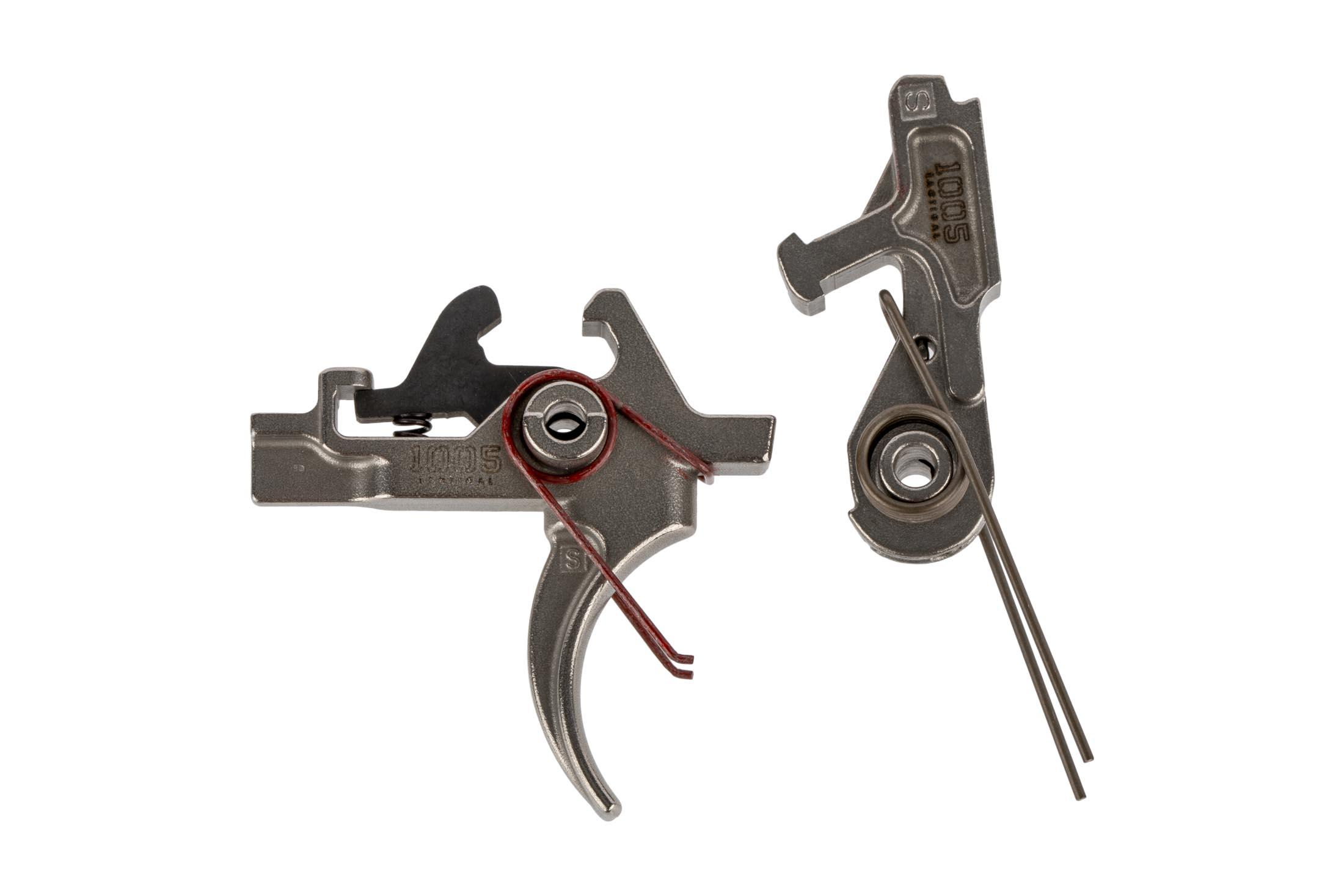 FM Products Nickel Boron match grade 2-stage AR-15 trigger is a smooth and reliable trigger with clean break