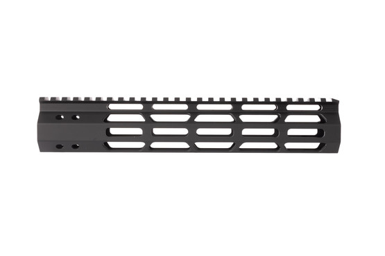 FM Products Ultra light 10.5in AR-15 handguard features large cooling slots for enhanced air flow and reduced mass