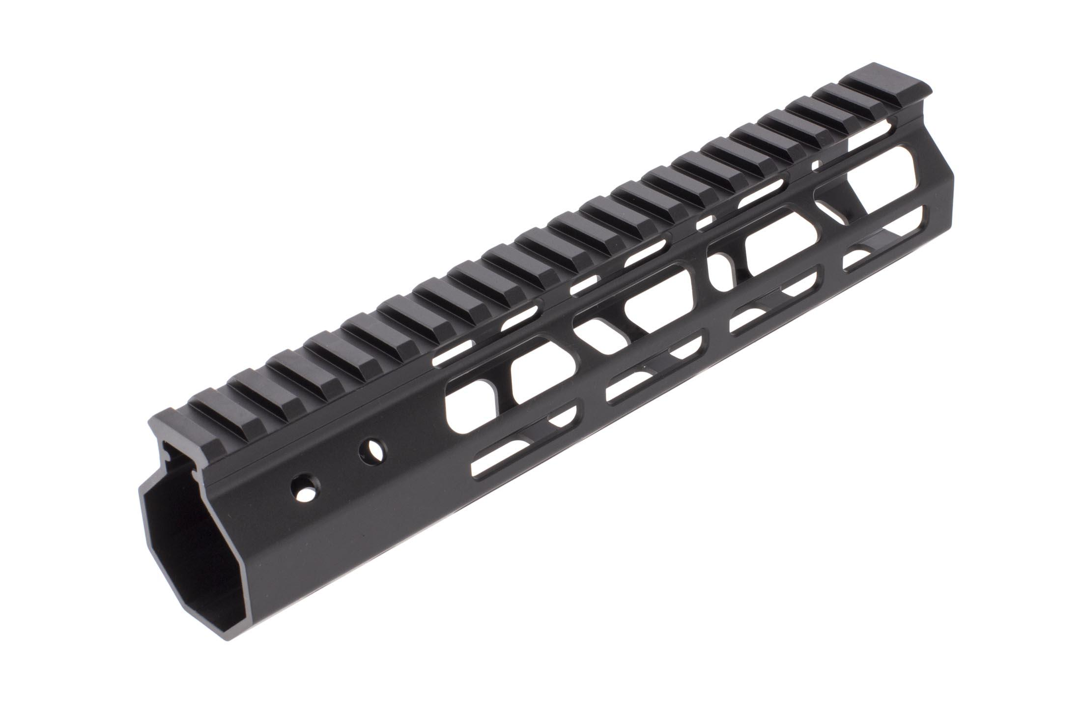 FM Products free float 10.5in ultra light AR15 M-LOK rail features a full length M1913 Picatinny top rail for your favorite accessories