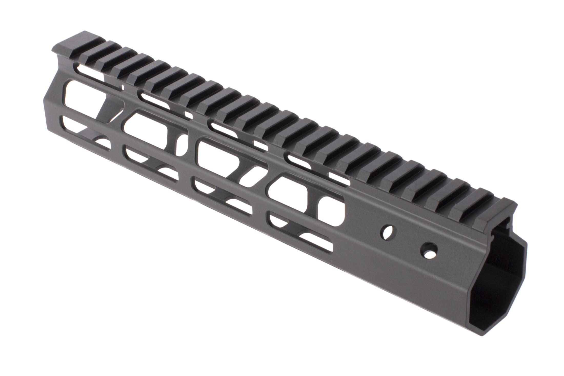FM Products 8.5in Ultra Light Gen II handguard features an ergonomic septagonal profile
