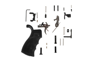 FM Products Premium AR-15 lower parts kit features an Ambi safety selector and their 2-stage match grade trigger