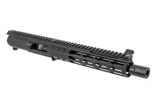 The Foxtrot Mike side charging 9mm AR complete upper receiver features an 8.5 inch barrel
