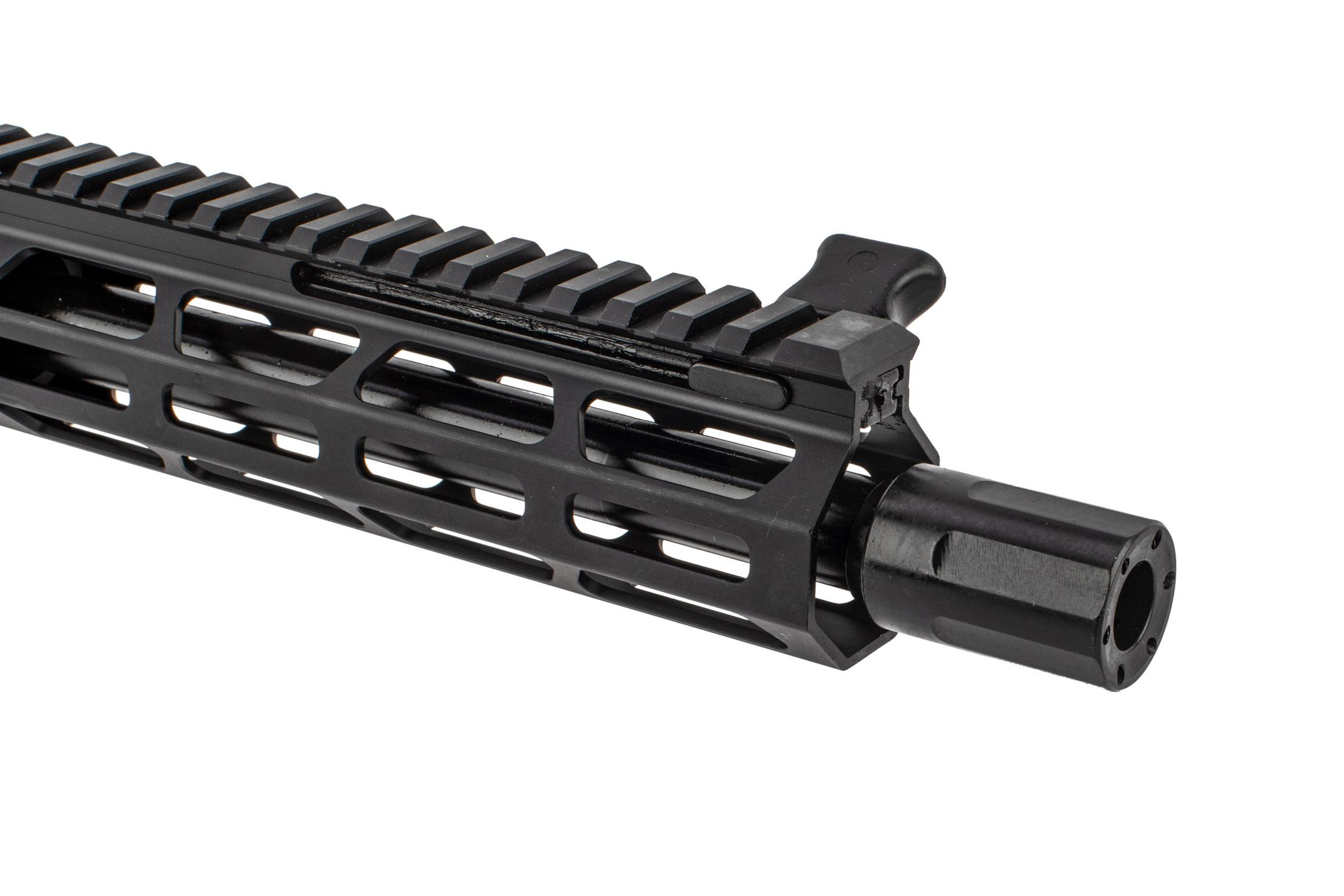 "Foxtrot Mike Products 8.5 9x19mm 1:10 Complete Upper - 8"" M-LOK Rail - Blast Diffuser"