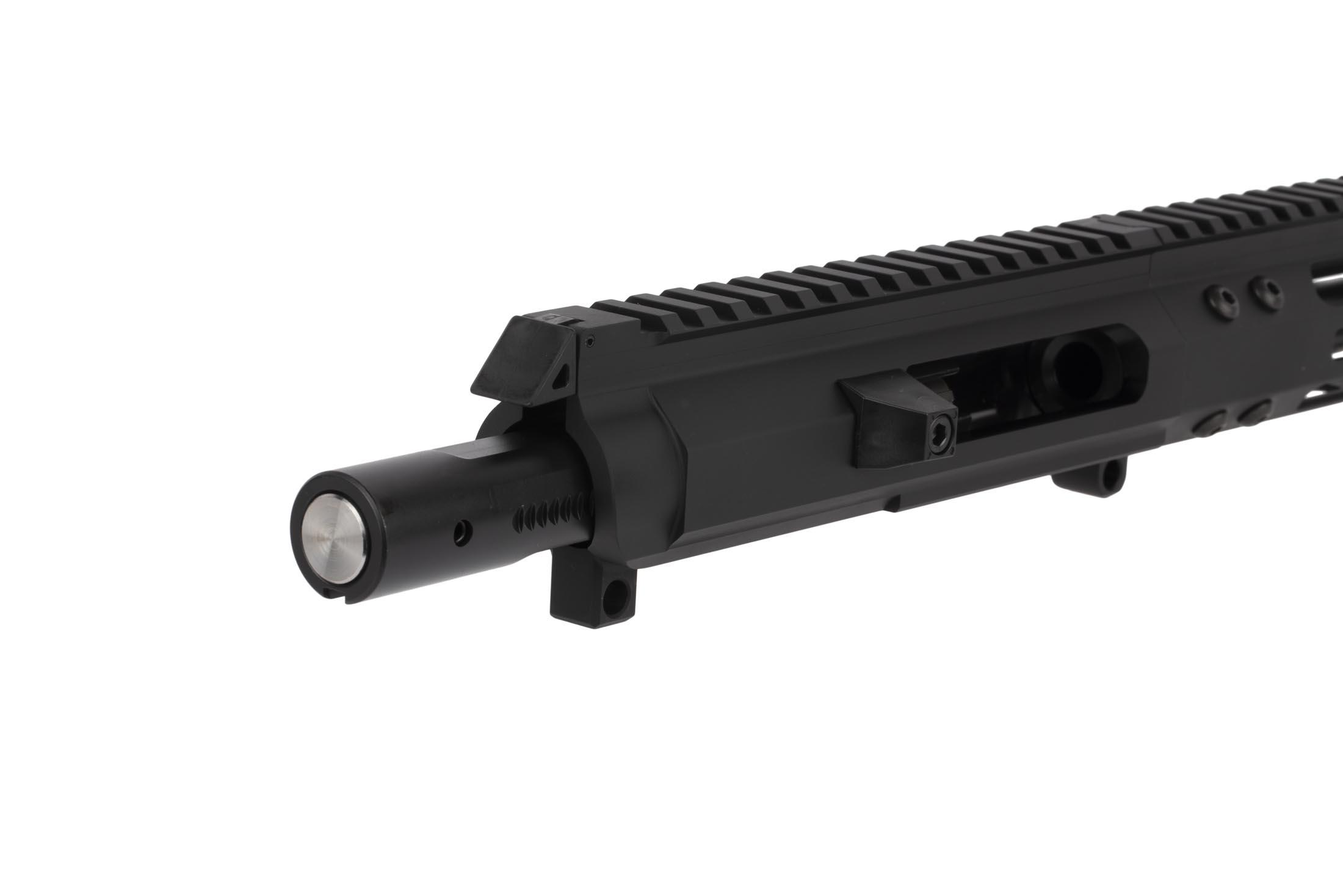 FM Products M-LOK equipped 8.5in .45 ACP complete upper receiver for the AR-15 is equipped with a heavy duty .45 ACP tuned bolt carrier group