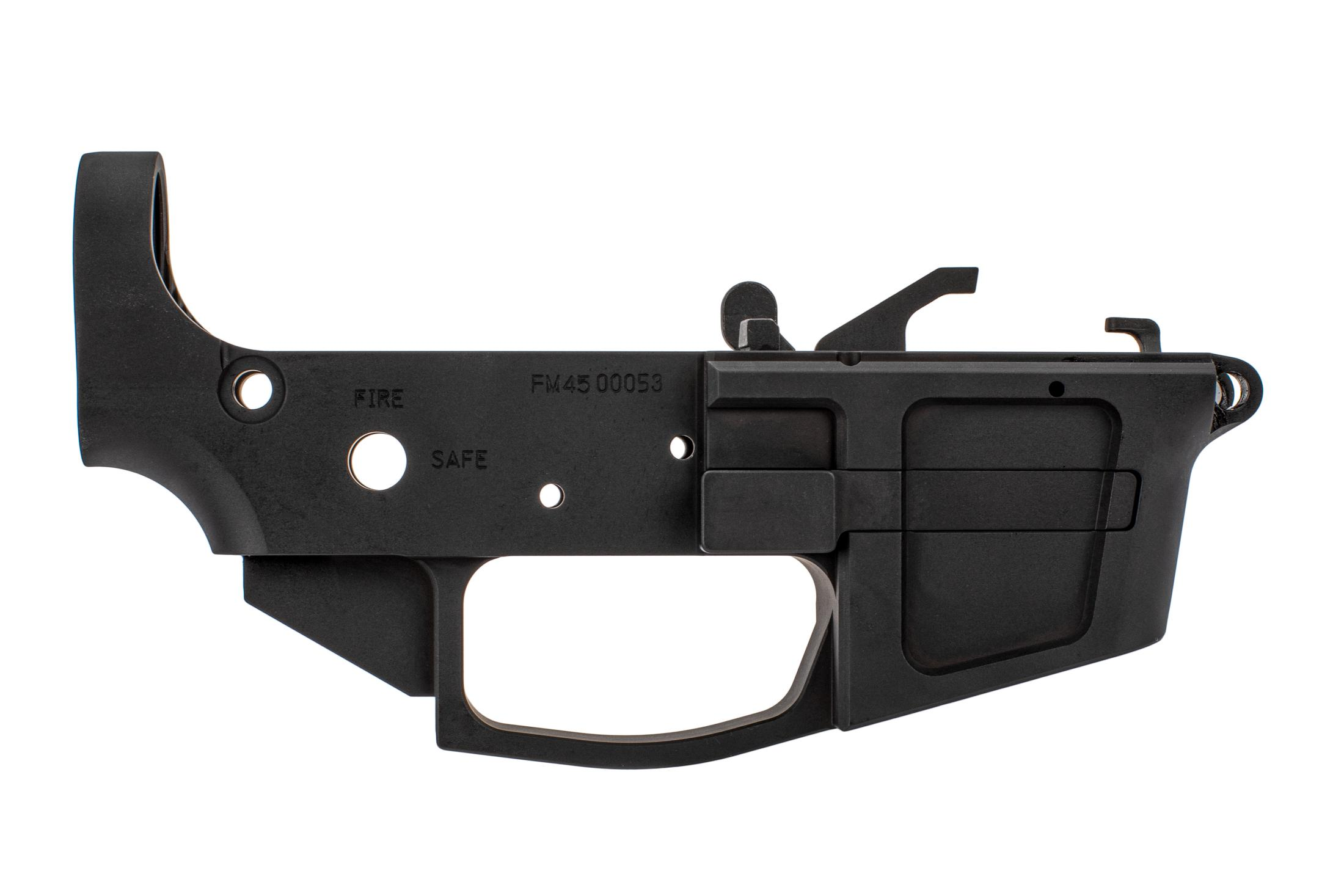 Foxtrot Mike Products .45 ACP Lower - Stripped (Non California Compliant)
