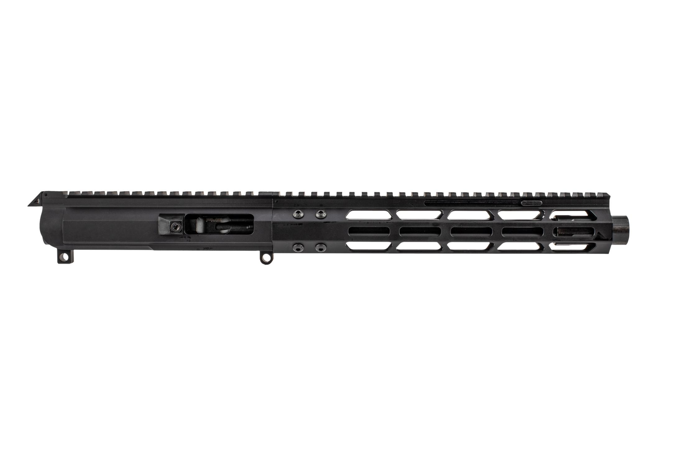 "Foxtrot Mike Products 9.25 9x19mm 1:10 Complete Upper - 10"" M-LOK Rail with Blast Diffuser"