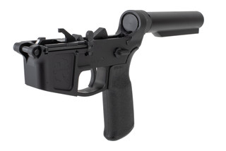 Foxtrot Mike Products FM9 complete lower receiver comes with a carbine receiver extension