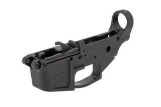 FM Products billet 9mm stripped lower receiver does feature 9mm specific components such as bolt catch, ejector, and mag release