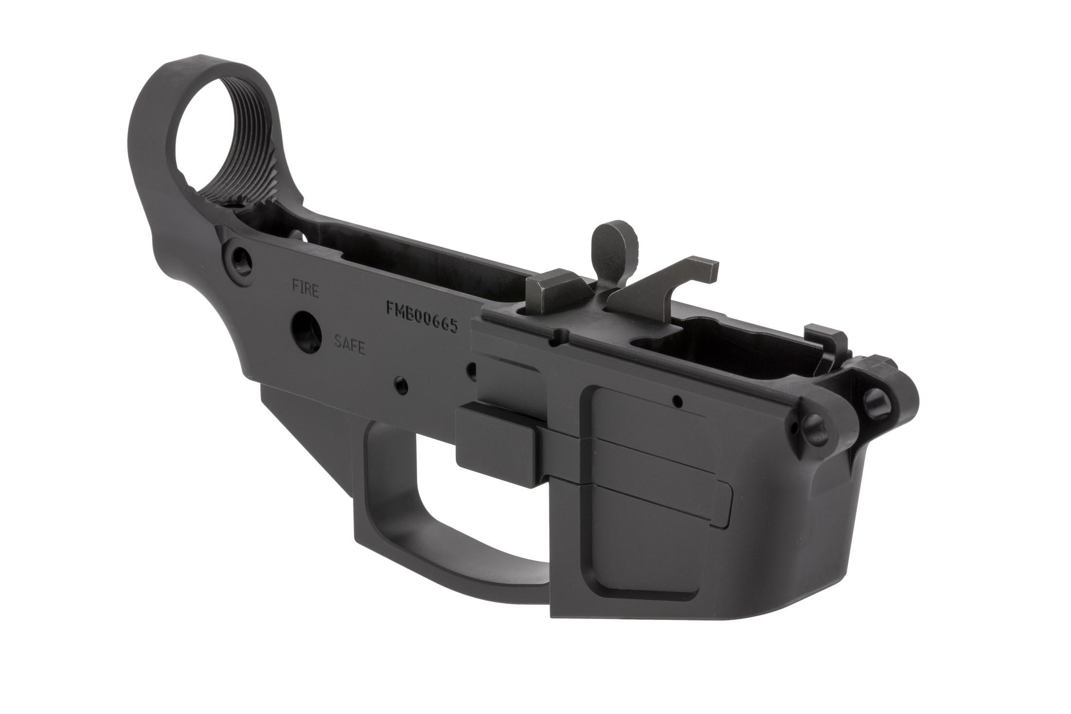 Foxtrot Mike Products FM-9B stripped Glock-magazine lower receiver accepts your favorite grips, safeties, and triggers