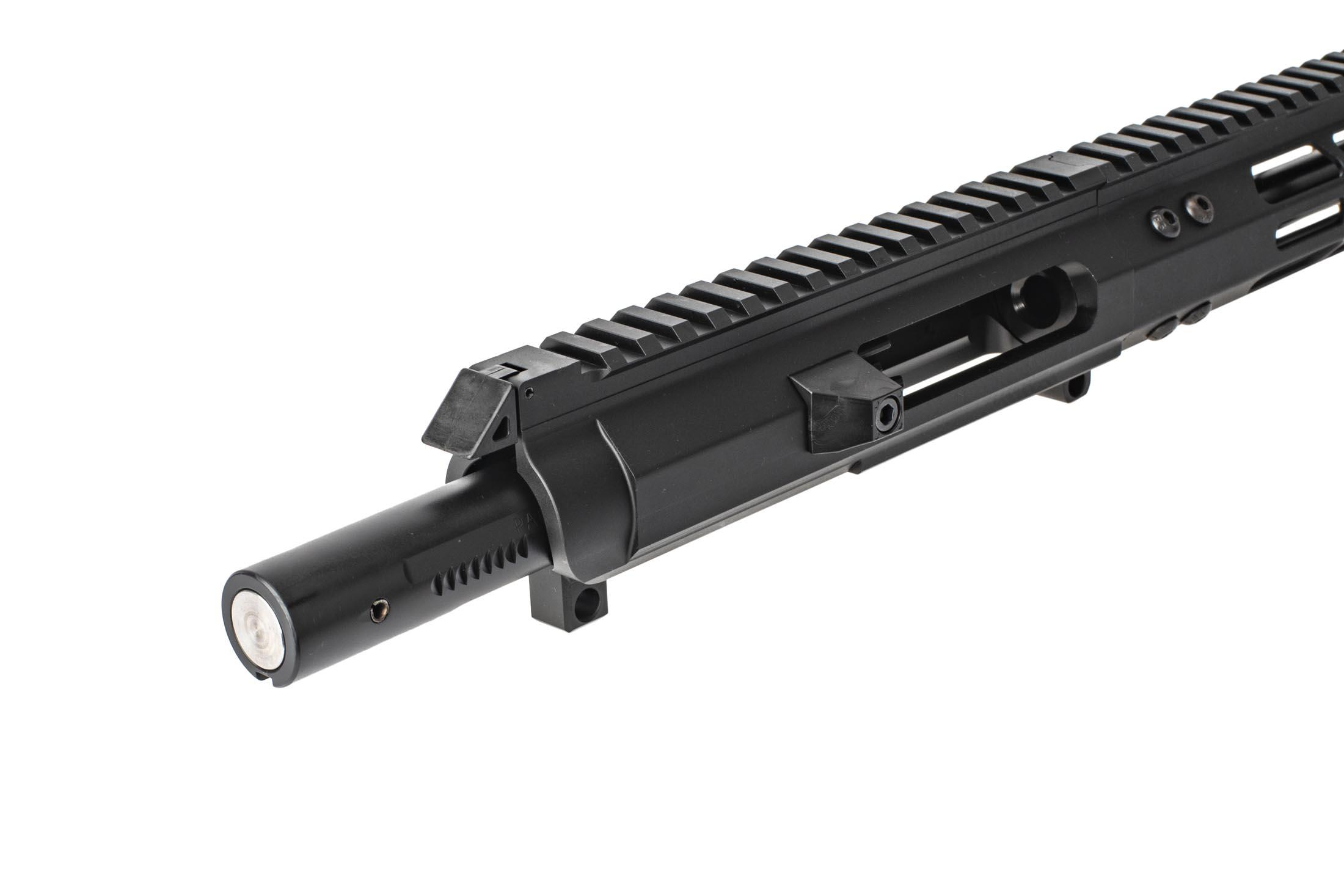 "Foxtrot Mike Products Complete 9mm AR Upper 9.25 Colt Style - 10"" M-LOK Rail - Blast Diffuser"