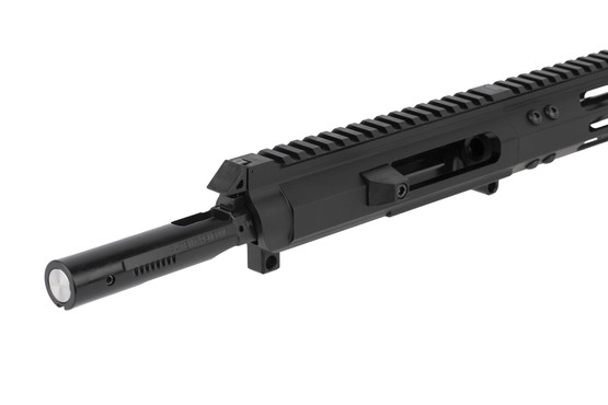 FM Products 8.5in 9mm side charging AR-15 upper half includes a heavy weight BCG for optimal function