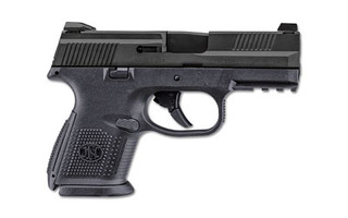 FN FNS-9C 9mm Compact Pistol has a 3.6in barrel and is perfect for concealed carry